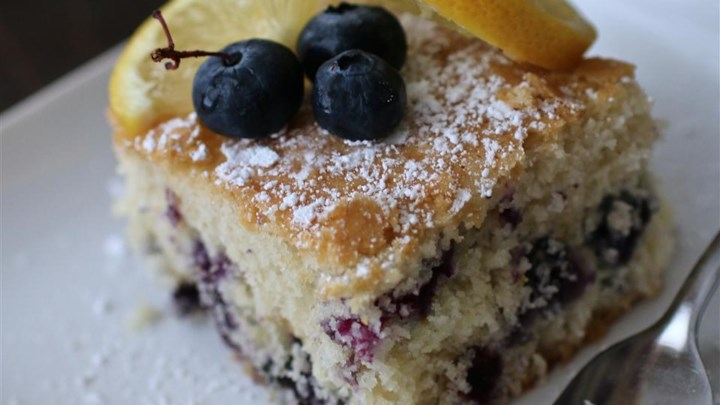Fresh Blueberry Cake