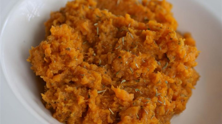 Quick and Easy Mashed Sweet Potatoes