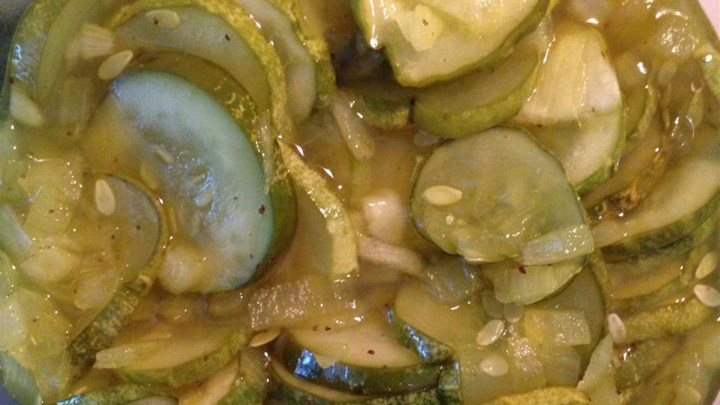 Microwave Bread-and-Butter Pickles