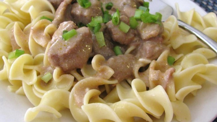 Home Recipes Main Dish Beef Beef Stroganoff