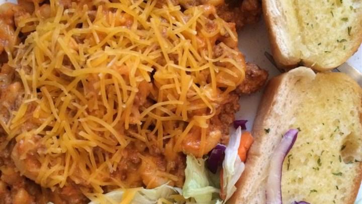 Lori's Beef and Spaghetti Macaroni