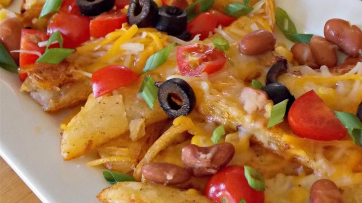 Quick Potato Nachos