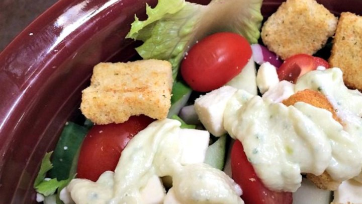 American-Style Creamy Greek Dressing