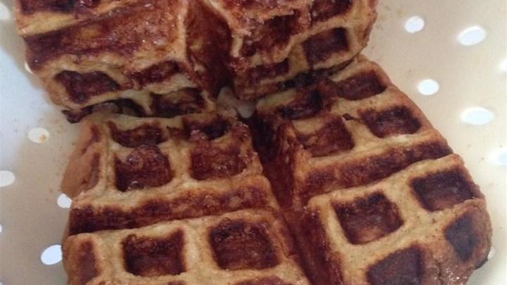 Cinnamon and Sugar French Waffle Toast