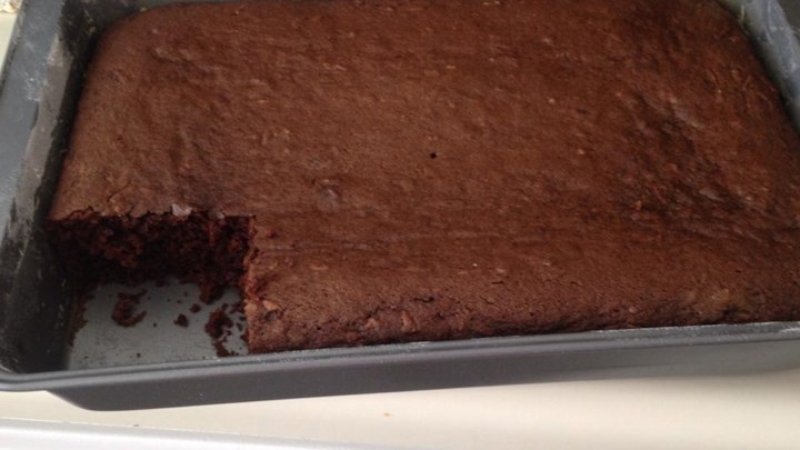 Chocolate Zucchini Cake IV