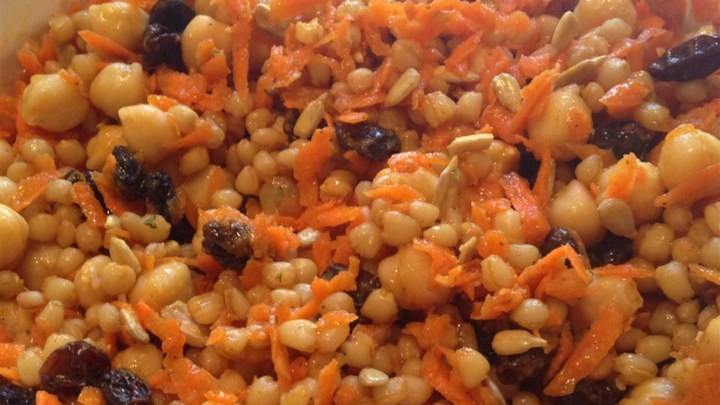 Curried Wheat Berry Salad