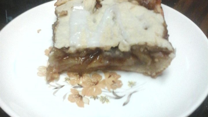 Cinnamon Apple Pie Bars