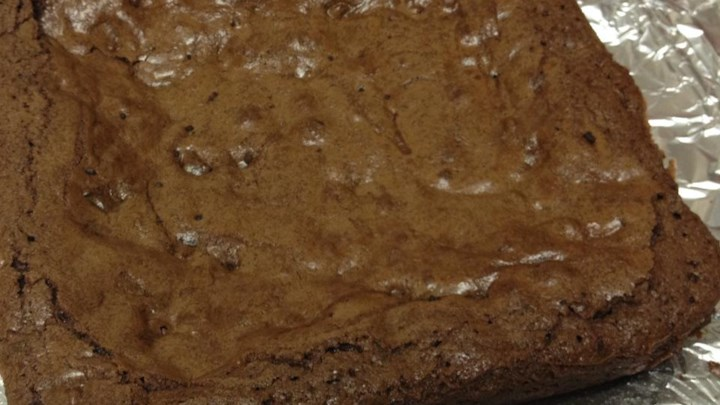 High Altitude Deep Dish Brownies