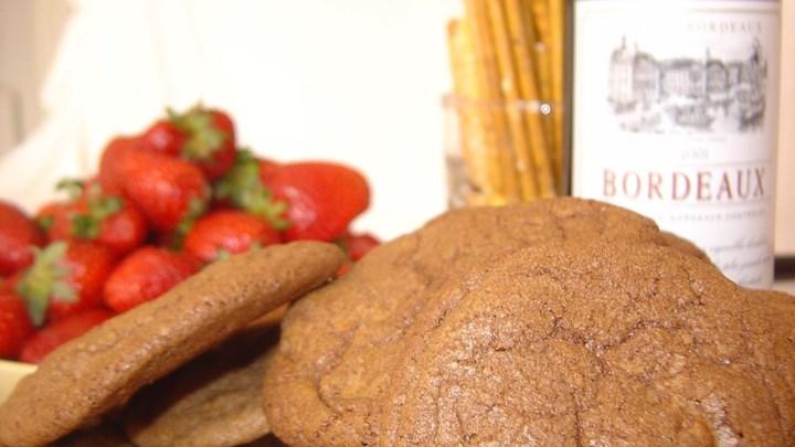Chocolate Chocolate Raisin Cookies