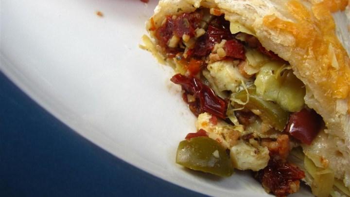 Karin's Veggie Calzones