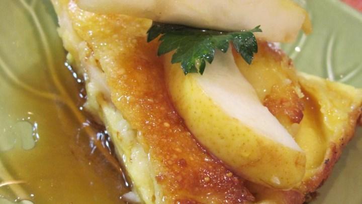 German Pear Pancake