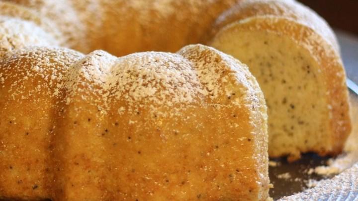Orange-Almond Poppy Seed Bread