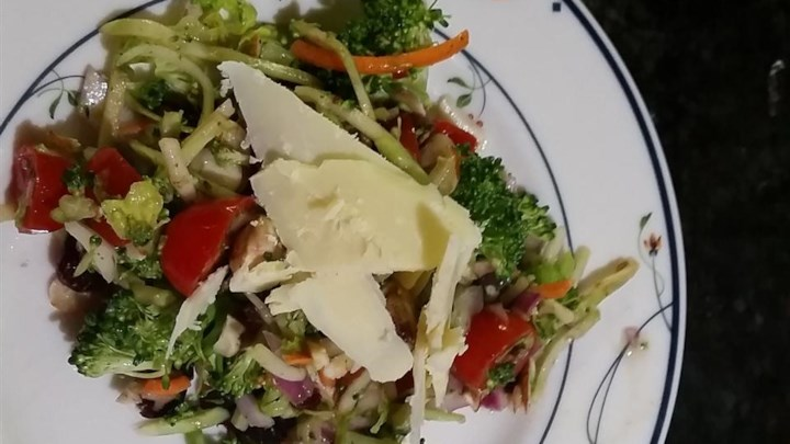 Broccoli Salad with Margarita Dressing