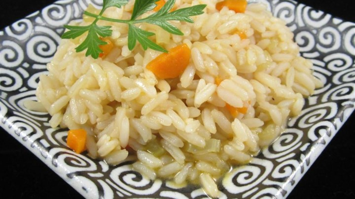 Simple Baked Rice