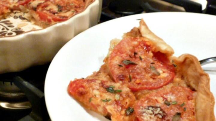 Tangy Tomato Tart (Pie)