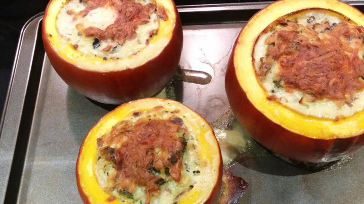 Thanksgiving Stuffed Pumpkin
