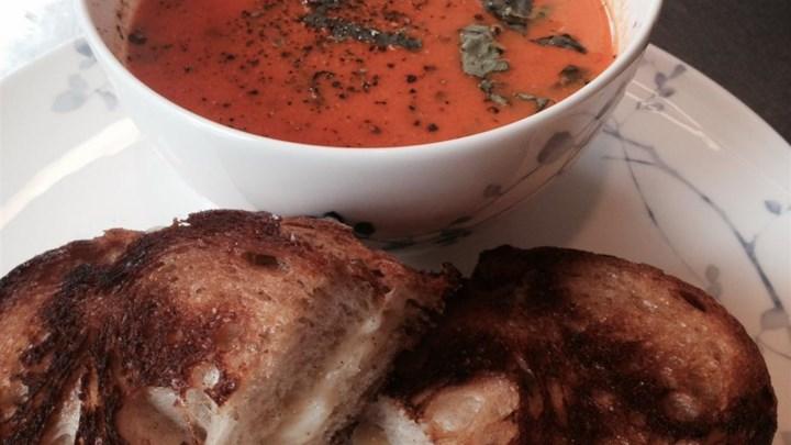 Creamy Tomato-Basil Soup