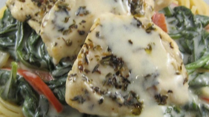 Light Tuscan Garlic Chicken