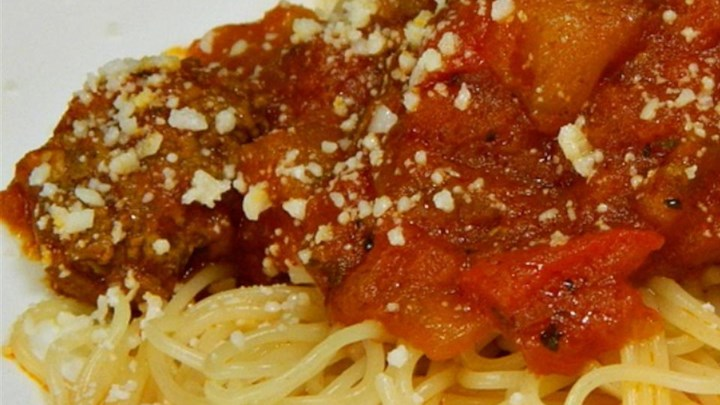 Jeanne's Slow Cooker Spaghetti Sauce