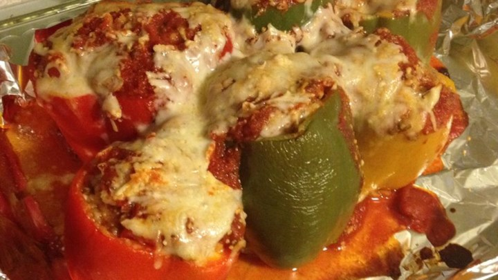 Di's Stuffed Green Peppers
