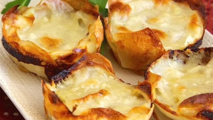 Muffin Tin Potatoes Gratin