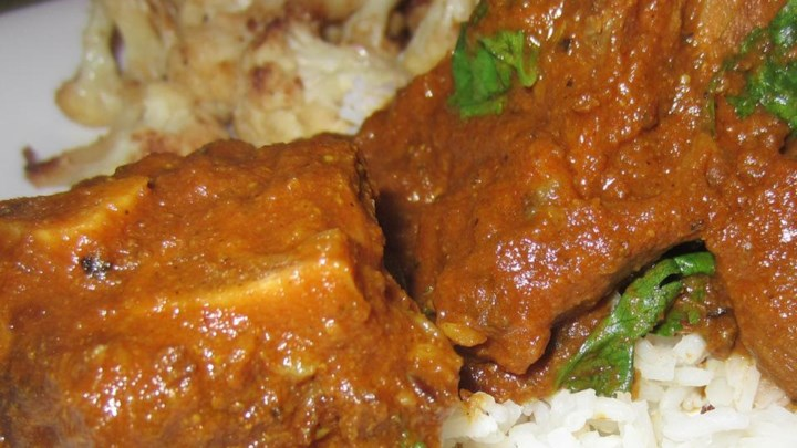 Black Pepper Goat Curry
