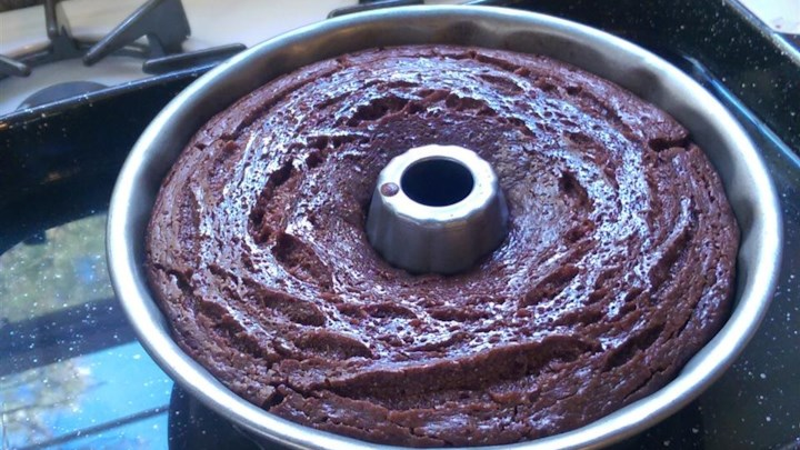 Sinful Flourless Espresso Cake