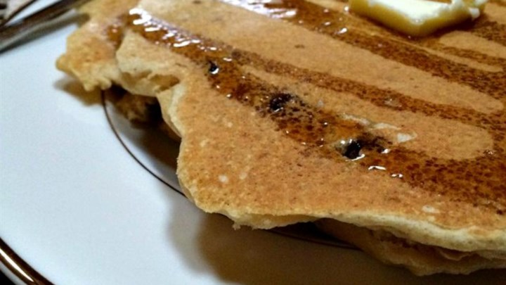 Whole Wheat Chocolate Chip Pancakes Recipe - Allrecipes.com