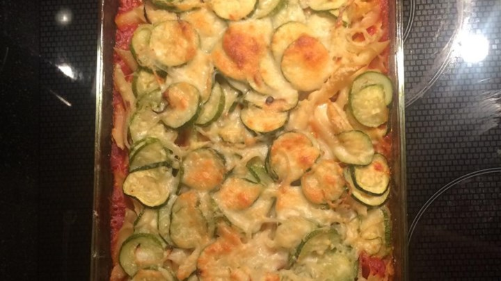 Roasted Zucchini Casserole