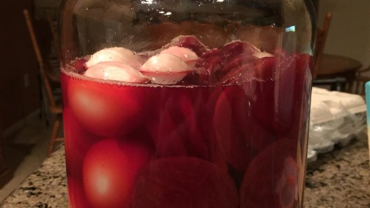Quick Pickled Eggs and Beets