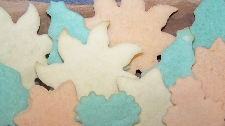 Vel's Christmas Shortbread