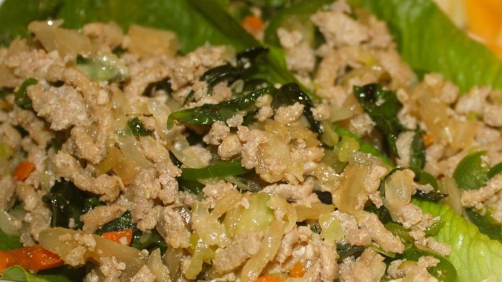 Thai Ground Chicken Basil
