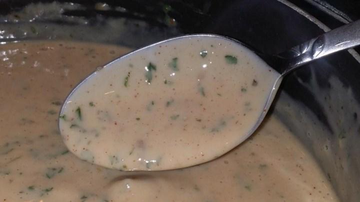 Cream of Mushroom Sauce