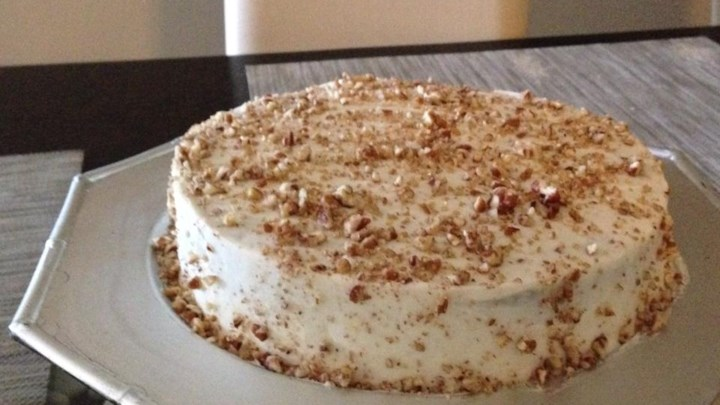 Pat's Award Winning Carrot Cake