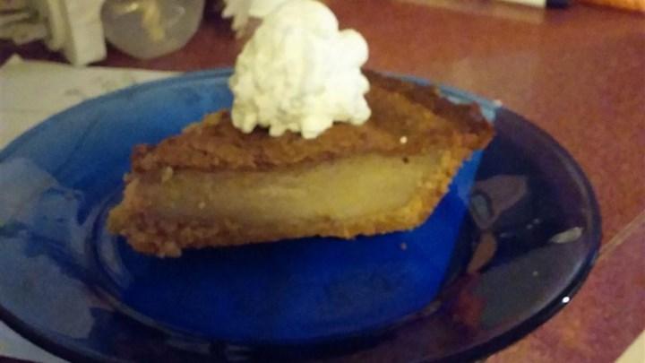 Nick's Eggnog Pie
