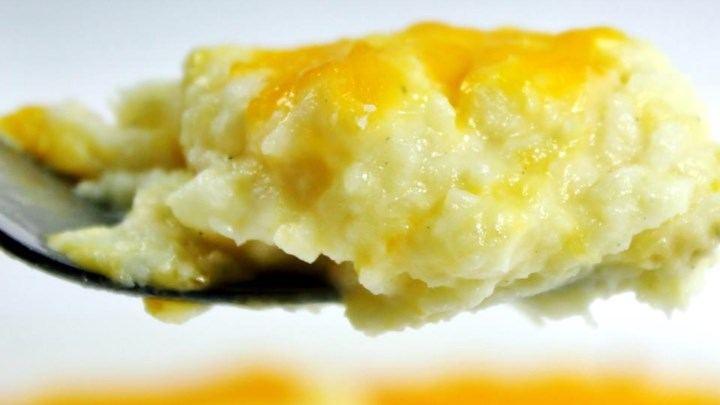 Mashed Cauliflower Bake