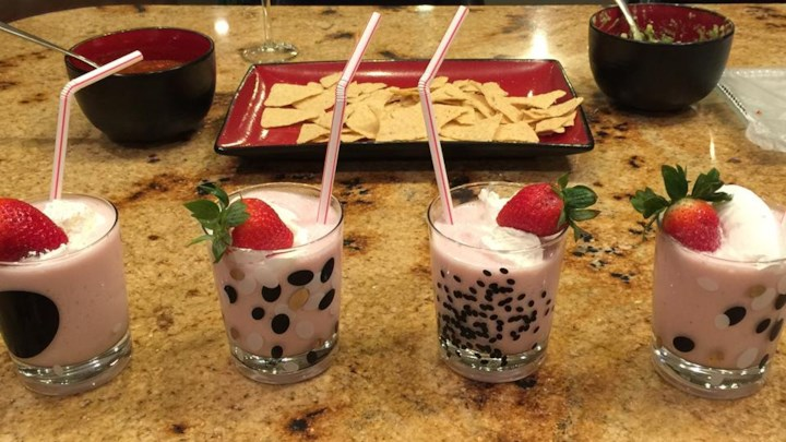 Strawberry Shortcake Drink
