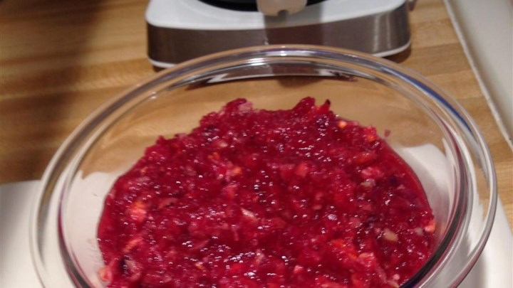 Strachan Fresh Cranberry Orange Relish