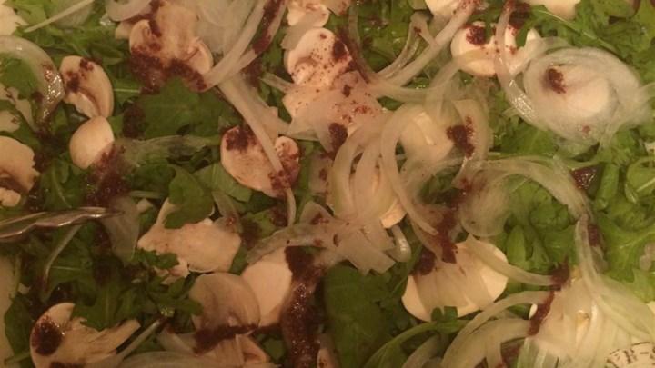 Jarjeer (Arugula) Salad