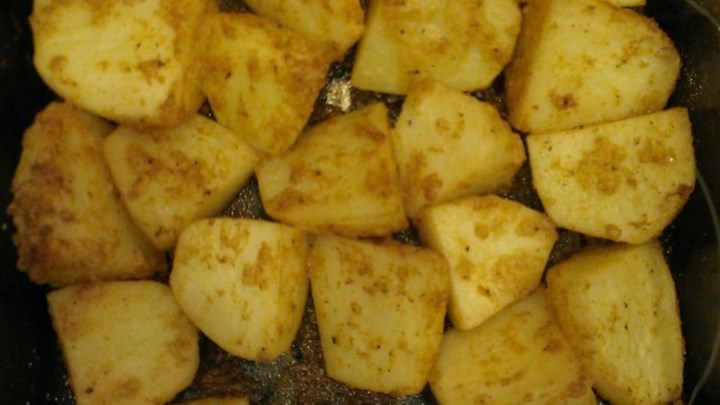 Oven Roasted Parmesan Potatoes