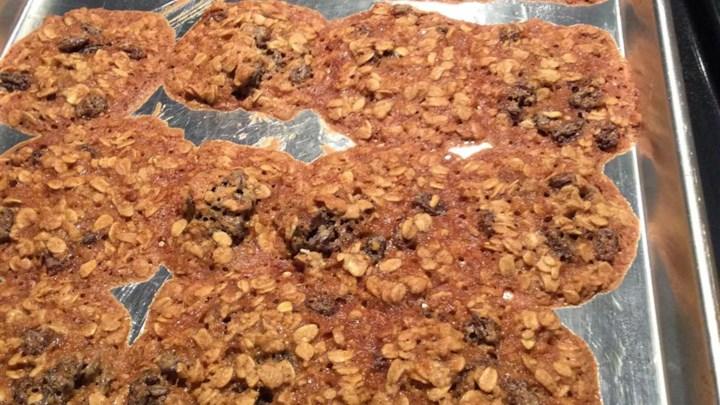 Chewy Oatmeal Cookies II