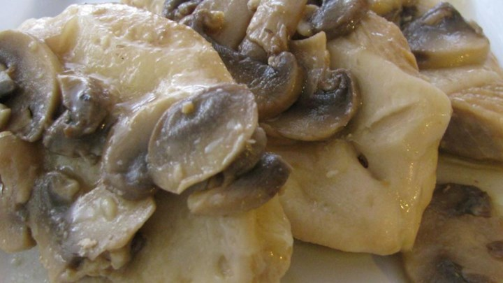 Apple Cider Chicken and Mushrooms