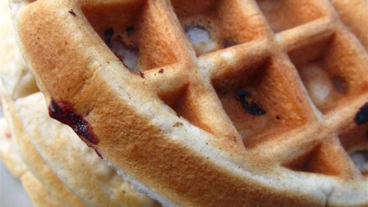 Nutty Pecan Waffles
