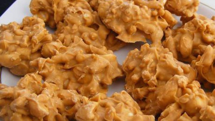 Peanut Butter Shoestring Haystacks