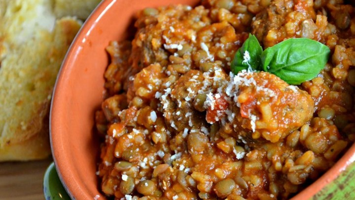Hearty Italian Lentil Soup