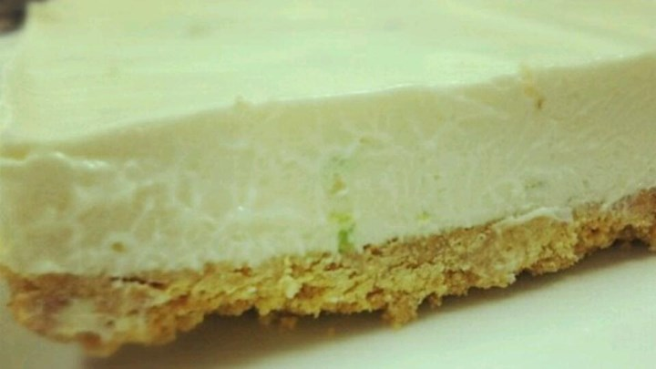 No Bake Lime Mousse Torte