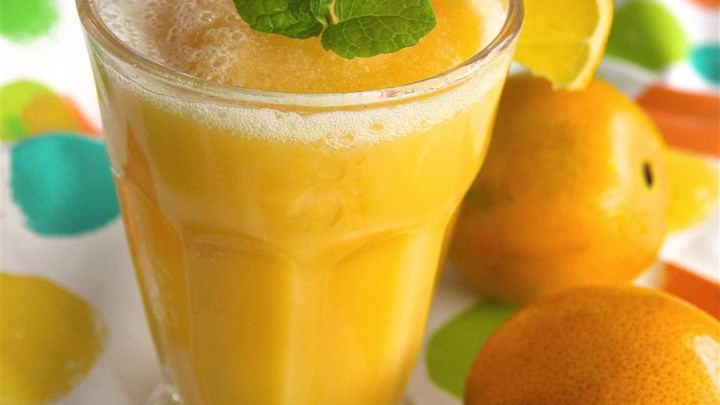 Orange Summer Cooler