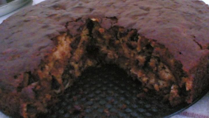 Date Nut Mayonnaise Cake