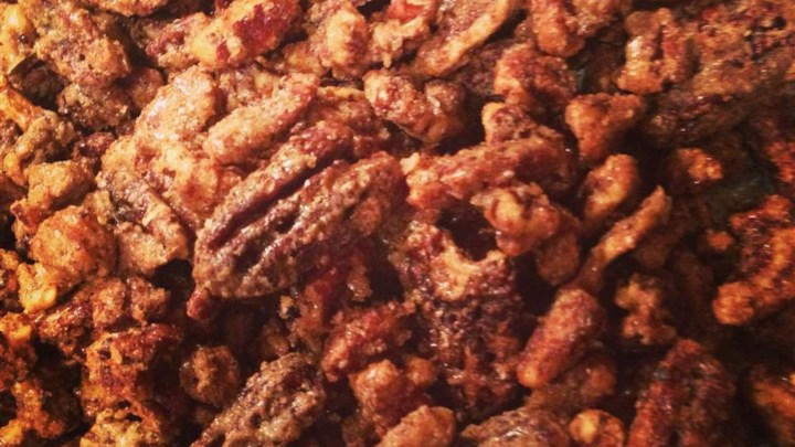 Old-Fashioned Roasted Pecans