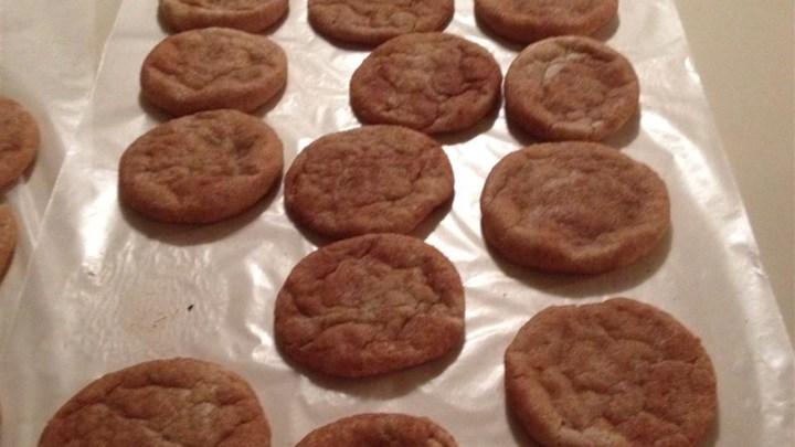 Cinnamon Sugar Butter Cookies I